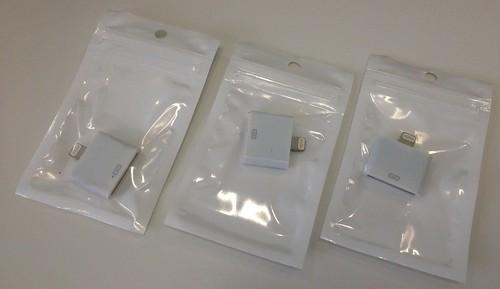 iPhone 5用変換アダプタ