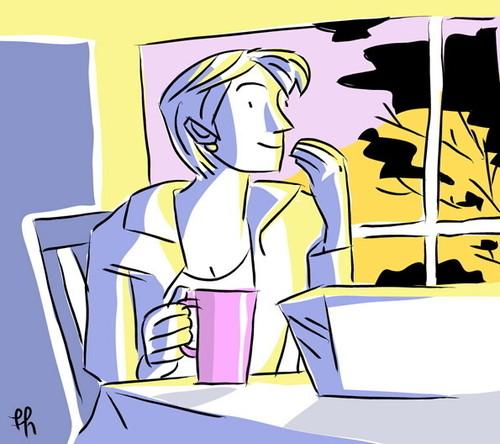 morning coffee // café de la mañana by Frank.Hilzerman