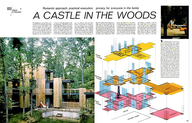 1965... romantic woodsy castle!