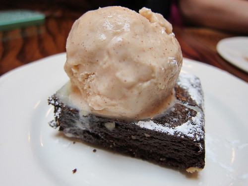 Ceviche - peruvian chocolate brownie