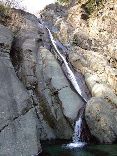 朝日滝二の滝 2011.3.29-2
