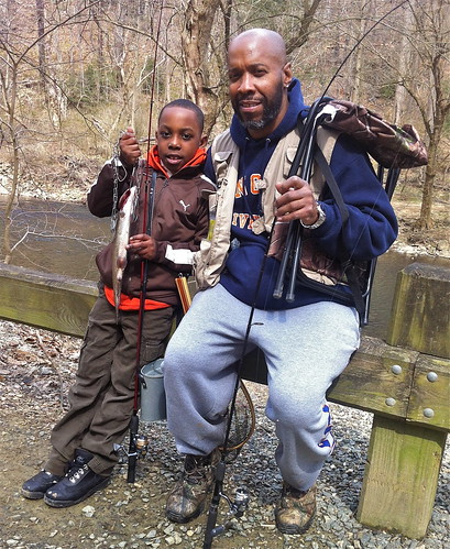 Trout fishing the Wissahickon