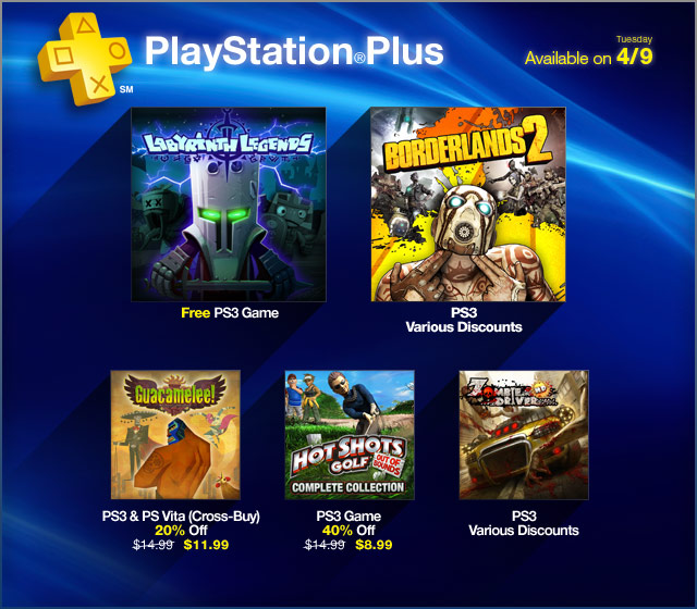 PlayStation Plus Update 4-9-2013
