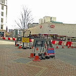 Corporation Street, Birmingham - Midland Metro works