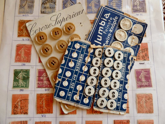 stamps & buttons