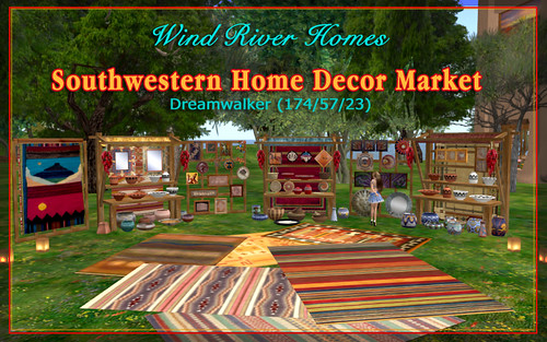 Southwestern Home Decor Market by Teal Freenote
