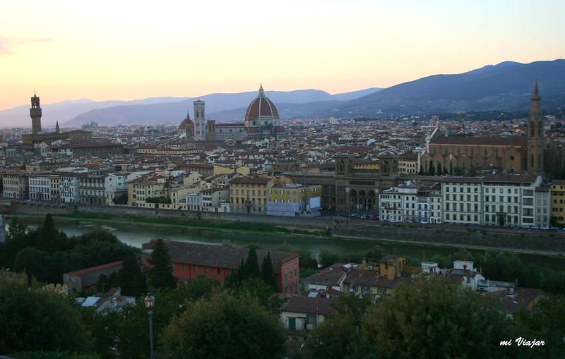 Vista de Florencia, Italia