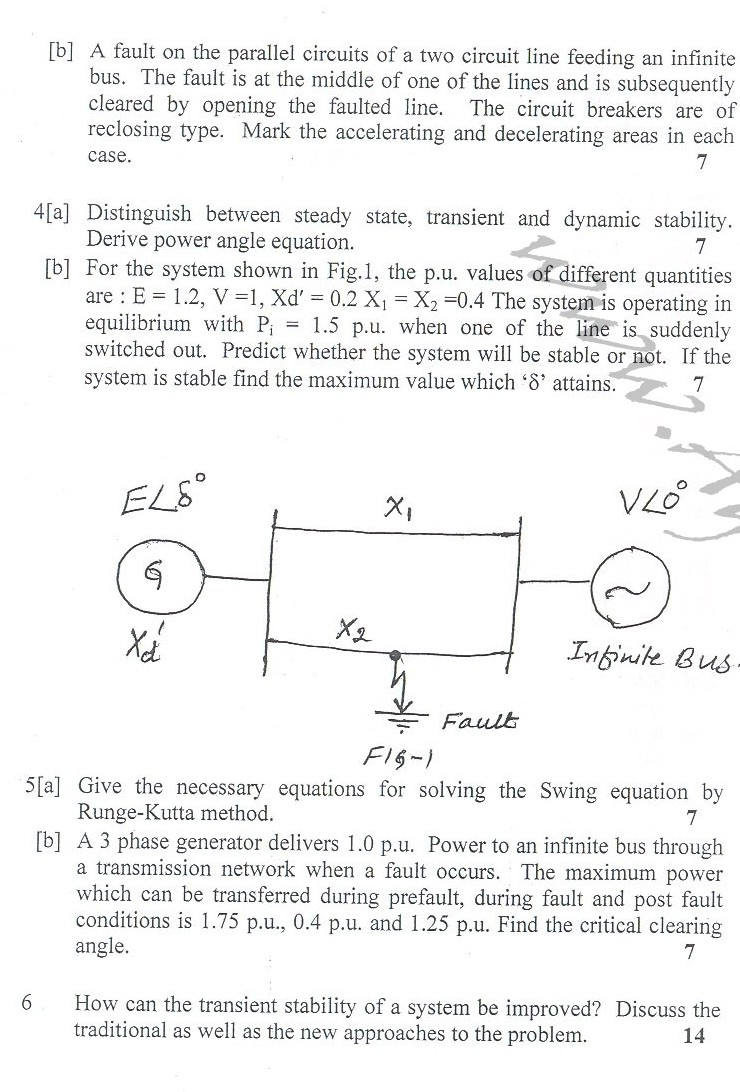DTU Question Papers 2010 – 8 Semester - End Sem - EE-411