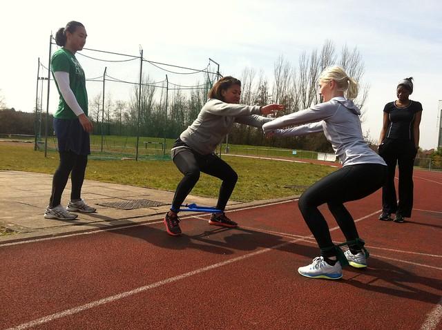 squats, track, sprints, sprinting, running