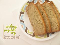 Easy Banana Bread Recipe using over ripe bananas