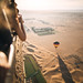 floating over the dubai desert by colerise
