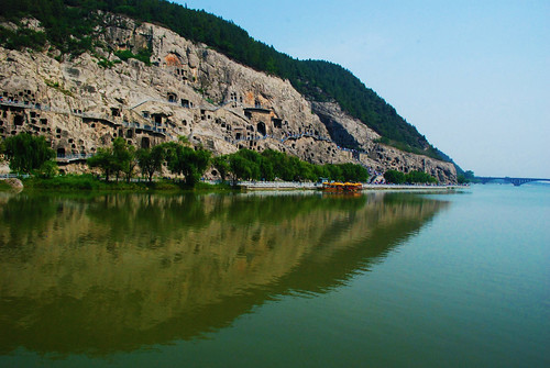Luoyang, Longmen Grottoes, China