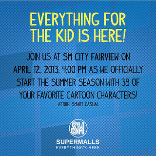 announcement, events, SM Malls, SM Fairview, summer, summer activities for children,