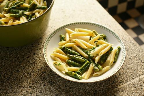 pasta met asperges