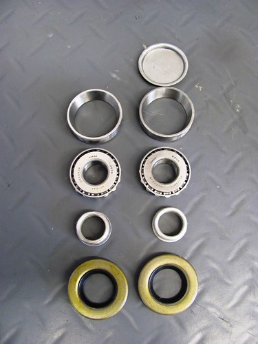 Swing Arm Bearing Parts-Top to Bottom, Inside to Outside
