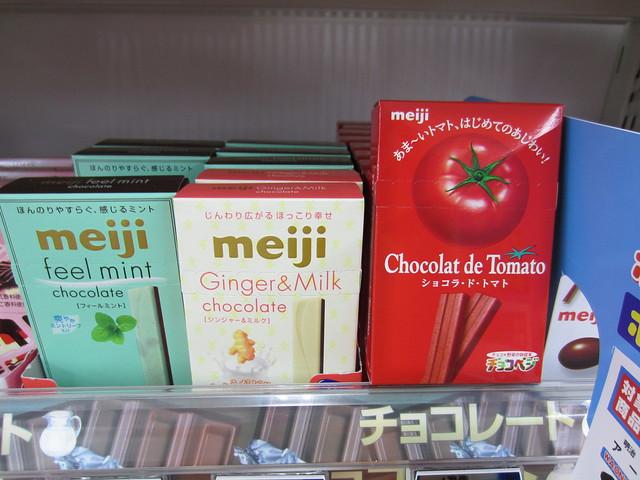 Tomato chocolate?