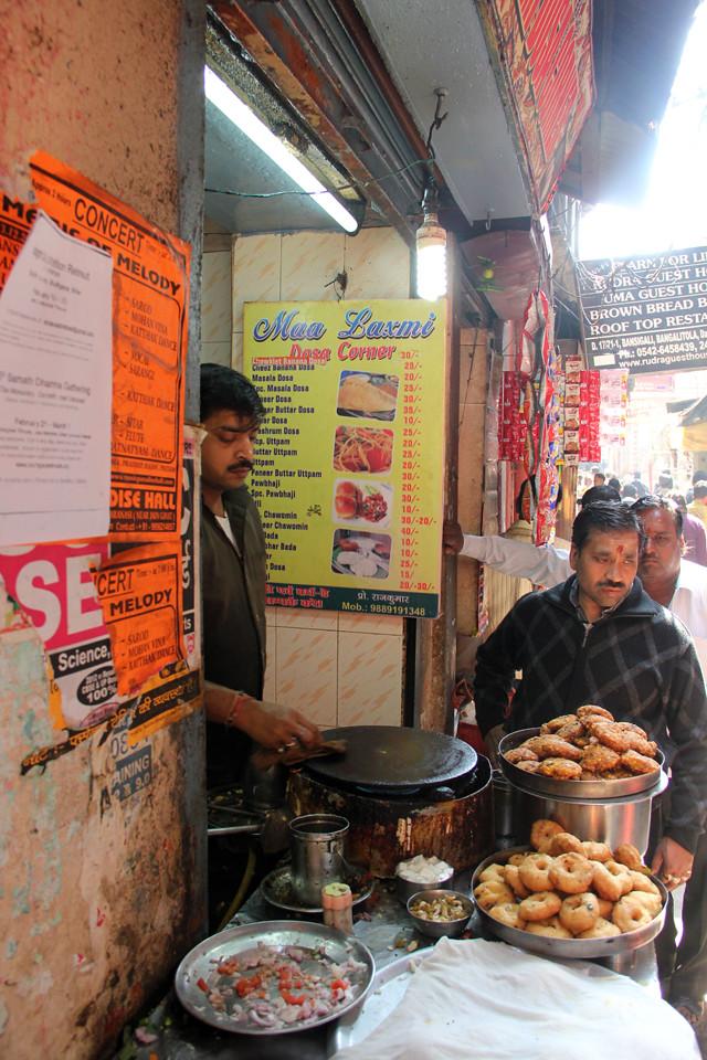 Maa Laxmi Dosa Corner in Varanasi, India