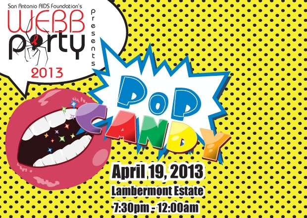 "Stay Current with the Pick of the Day: WEBB Party: ""Pop Candy"""