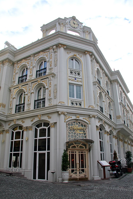 Albatros Premier Hotel in Istanbul, Turkey イスタンブール、アルバトロス・プレミア・ホテル外観