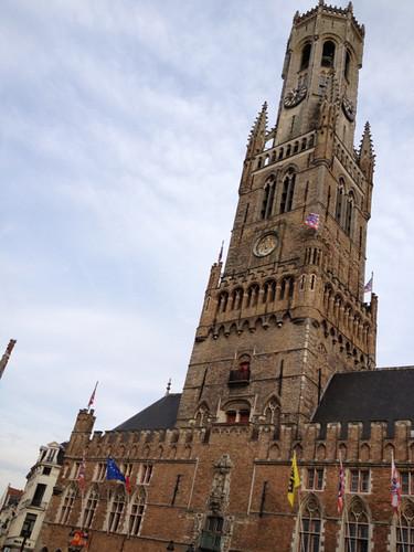 Bruges - Belfry and Market Halls