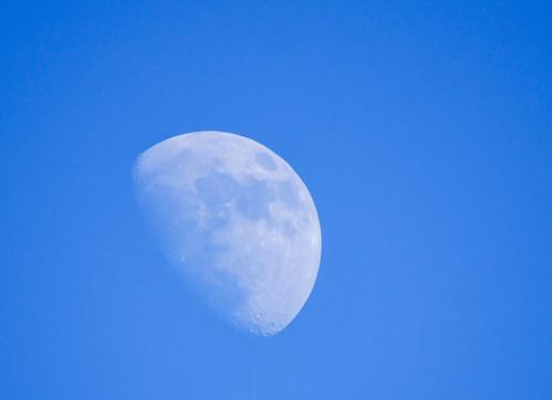 Moon through the new lens