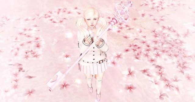 hidden among the petals