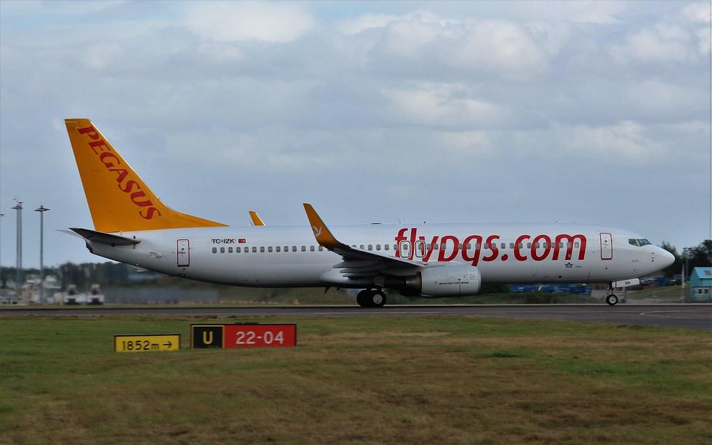 TC-IZK - B738 - Pegasus Airlines