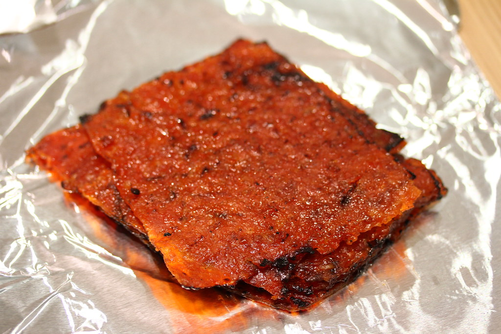 The Ultimate Bak Kwa Taste Test: Kim Hwa Guan (traditional dried minced meat)
