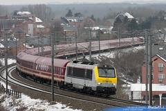 1346 sncb technics ligne 166 beauraing 25 janvier 2013
