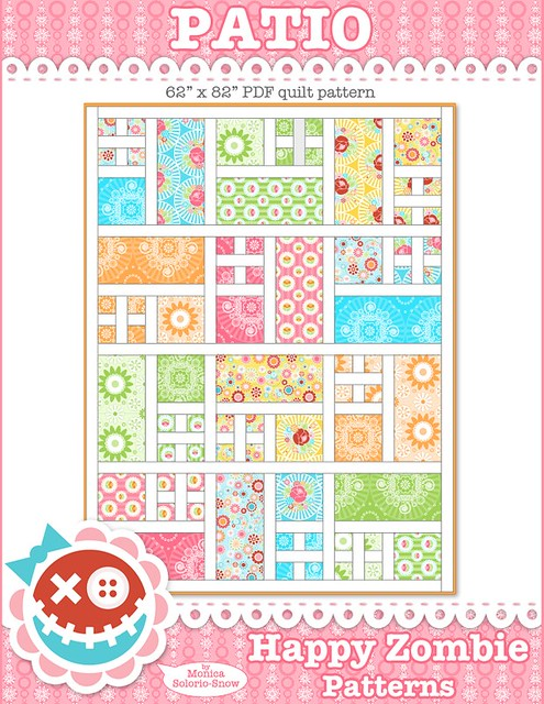 Patio - PDF quilt pattern