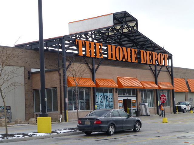 Home Depot in Cleveland, Ohio - Steelyard Commons - By ...