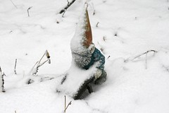 gnome with wheelbarrow 068