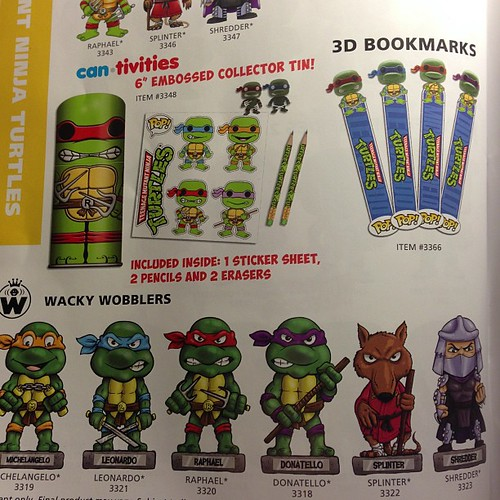 Teenage Mutant Ninja Turtles Wacky Wobblers by Funko #tmnt #funko #toyfair #toys #toy