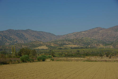 mountains turkey countryside farmland hills