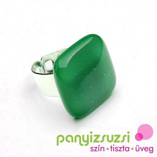 smaragdzöld gyűrű - ékszer