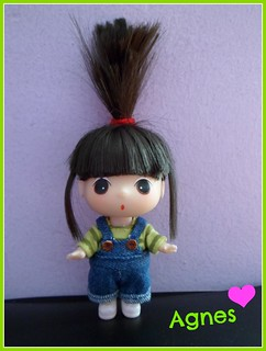 Agnes, from Despicable me