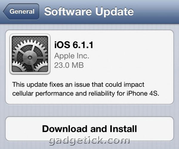 iOS 6.1.1