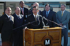 Kickoff event for Metro Gold Line Express Service, February 9, 2006