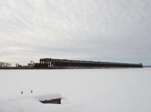 View from the boathouses.
