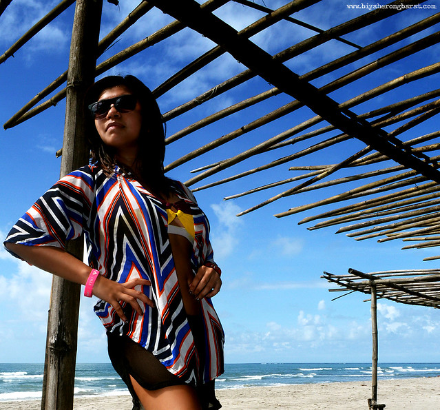 Carla Lagonoy in Iba Zambales Beach