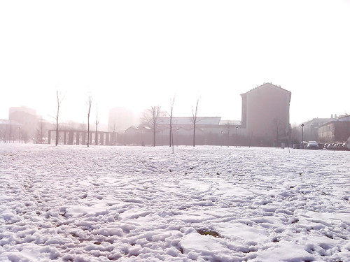 C'è il sole ma non si vede dalla neve by Ylbert Durishti