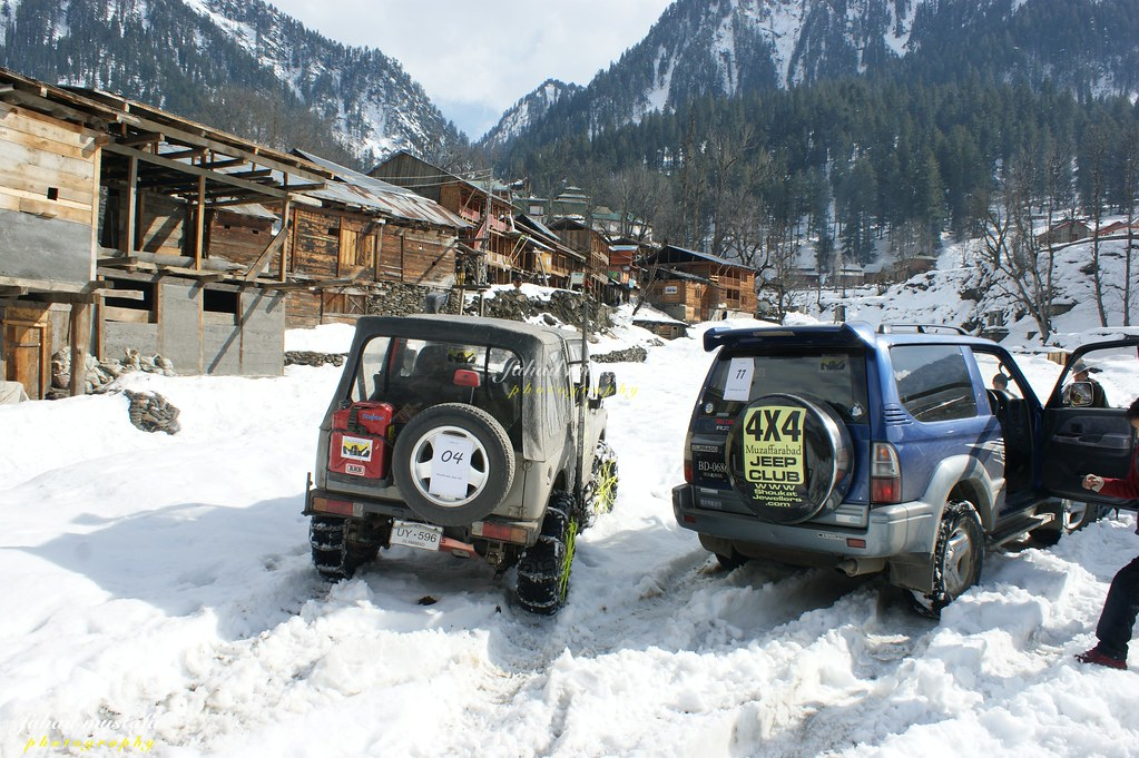 Muzaffarabad Jeep Club Neelum Snow Cross - 8470719527 a70dcc3c54 b