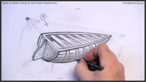 learn how to draw a boat in two point perspective 015