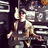 At the EVH booth at NAMM 1/25/13