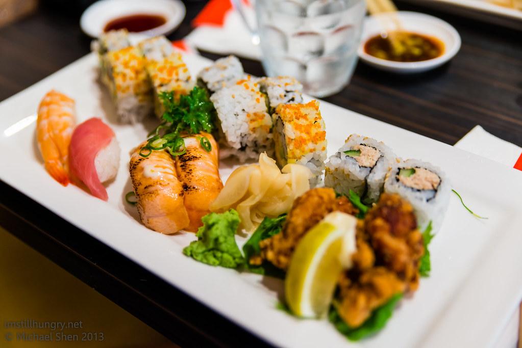 Sushi Samurai sushi set A
