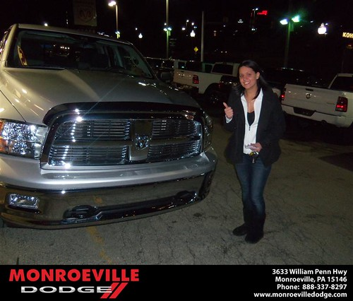 Congratulations to James Berent on the 2011 Dodge Ram by Monroeville Dodge