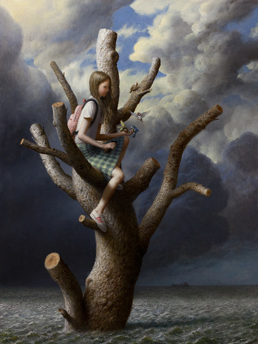 the Tree by Aron Wiesenfeld