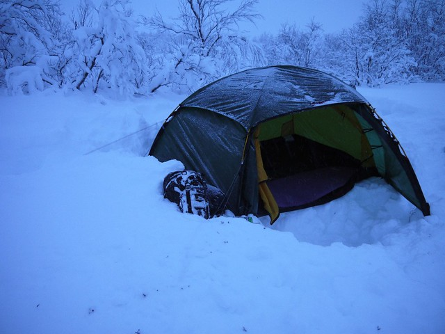 Winter tent : Hilleberg Allak