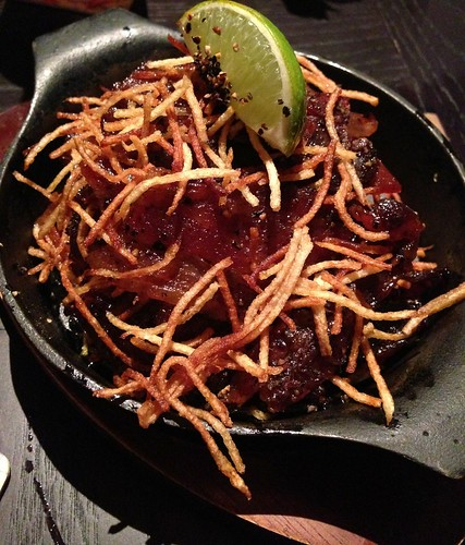 The Pelican - Black Pepper Candied Bacon with brown sugar & lime