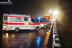 Schwerer Verkehrsunfall B42 Geisenheim 15.02.13